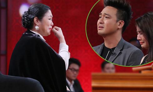 Hồng Vân bật khóc vì Kha Ly - Thanh Duy giống vợ chồng mình thời trẻ
