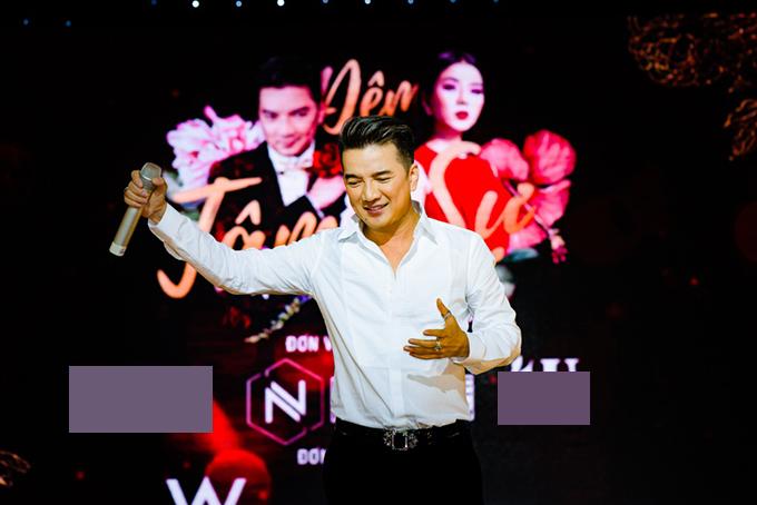 Lệ Quyên, Đàm Vĩnh Hưng nắm tay không rời khi hát ở Đà Nẵng - 5
