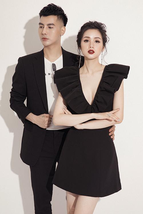 Tâm Tít khoe vóc dáng gợi cảm sau hai lần sinh nở trong bộ ảnh thời trang với người mẫu Cường Bely.