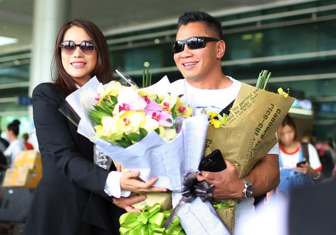 Cung Lê tiết lộ anh sang Việt Nam để chuẩn bị tham gia một dự án điện ảnh.