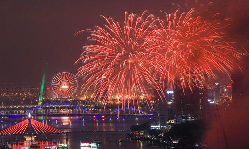 Đà Nẵng rực rỡ trong lễ hội pháo hoa 2018