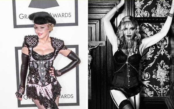 Madonna - Chế độ ăn kiêng người sói Madonna theo đuổi chế độ ăn kiêng người sói nhiều năm nay. Chế độ này dựa trên lịch âm, vào ngày đầu tiên và ngày 15 của tháng âm lịch, bạn sẽ chỉ được ăn các thực phẩm ở dạng lỏng. Các chuyên gia dinh dưỡng giải thích rằng vào những giai đoạn khác nhau của mặt trăng, quá trình trao đổi chất trong cơ thể cũng có sự thay đổi và chế độ ăn này giúp loại bỏ độc tố, hạn chế tích tụ mỡ thừa hữu hiệu.