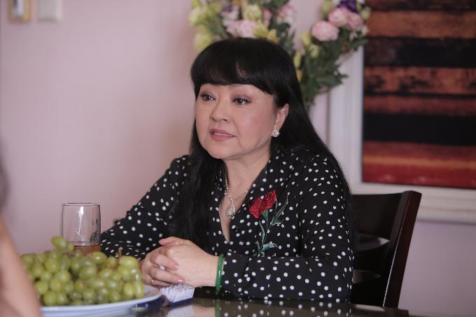 Nghệ sĩ Hương Lan có nhiều điều muốn chia sẻ trong đêm liveshow Một đời sân khấu.