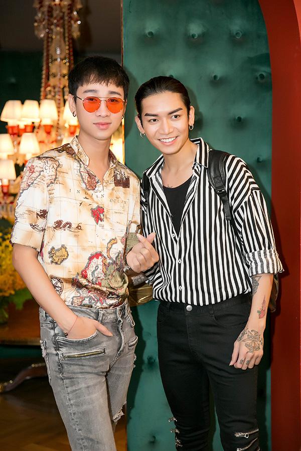 Ngoài các nghệ sĩ trên, chương trình còn có Hải Triều (trái), BB Trần.