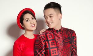 Vợ chồng ca sĩ hải ngoại gợi ý mặc áo dài đẹp ngày cưới