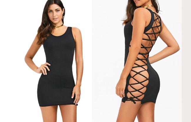Mẫu váy của Dreslily được bán với giá 18 USD.