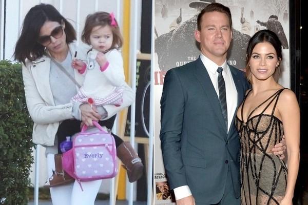 Jenna và Channing Tatum có một cô con gái chung.
