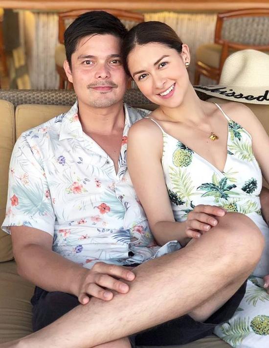 Vợ chồng Marian tận hưởng khoảnh khắc bên nhau trong chuyến nghỉ.