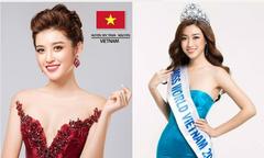 Huyền My và Đỗ Mỹ Linh vào top 'Hoa hậu đẹp nhất năm 2017'