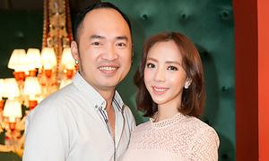 Thu Trang khoe nhan sắc sau thẩm mỹ ở họp báo của Diệu Nhi