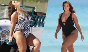 'Mẫu béo hot nhất thế giới' khoe loạt ảnh không photoshop