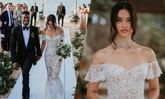 Ảnh cưới trên bãi biển của siêu mẫu Shanina Shaik