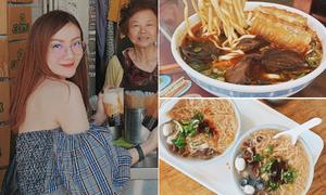 Theo chân Yến Trang, Yến Nhi 'ăn hết cả Đài Loan'