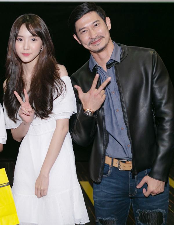 Hot girl Thái Lan Nene có những kỷ niệm khó quên khi diễn cùng Huy Khánh trong Lật mặt 3.
