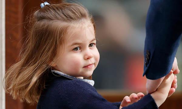 Công chúa Charlotte vừa tròn 3 tuổi vào ngày 2/5. Ảnh: Hello.