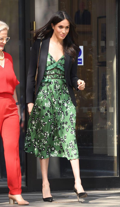 Lý do Meghan Markle liên tục diện trang phục màu xanh lá
