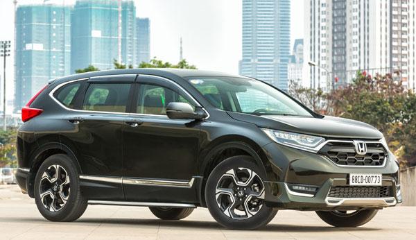 Honda CR-V nằm trong chương trình lái thử tổ chức ở ba tỉnh phía Nam. Ảnh: NN.