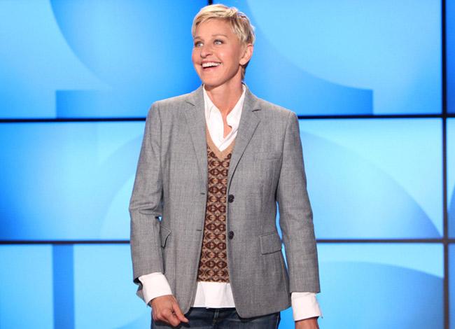 MC đồng tính Ellen hiện đã 60 tuổi và sở hữu khối tài sản lên đến 400 triệu USD.Ảnh: The National.