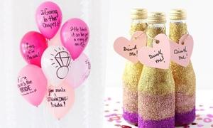 4 món đồ trang trí tiệc cưới độc đáo có giá 'hạt dẻ'