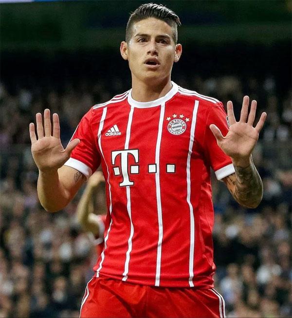 James Rodriguez từ chối mừng bàn thắng vào lưới Real.