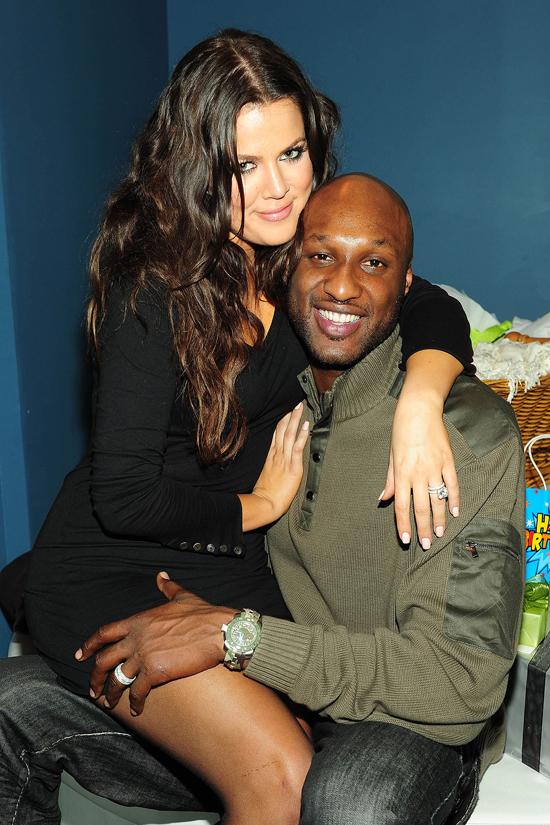 Khloe Kardashian và Lamar Odom từng là một cặp đôi đẹp.