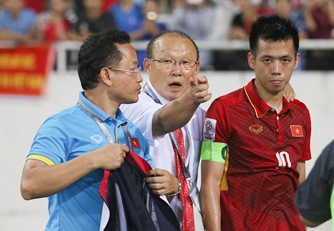 Tuyển Việt Nam giành quyền vào vòng chung kết Asian Cup 2019 với vị trí thứ hai bảng C, sau Jordan ở vòng loại. Ảnh: Đương Phạm.