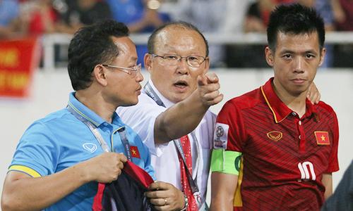 HLV Park Hang-seo sang Dubai dự lễ bốc thăm chia bảng Asian Cup 2019