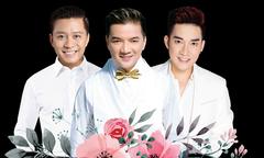 Mr Đàm lần đầu có đêm nhạc chung với Quang Hà, Tuấn Hưng