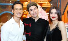 Kim Lý, Hồ Ngọc Hà sánh đôi mừng Lý Quí Khánh làm chủ nhà hàng