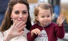 Hình ảnh từ bé đến lớn của Công chúa Charlotte