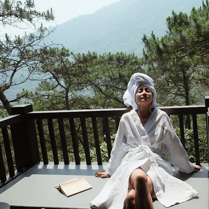 Quỳnh Chi gợi ý kỳ hai địa điểm thần tiên ngày cuối tuần ngay gần Hà Nội - 2