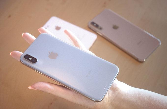 iPhone X2 màn hình 5,8 inch có thể được nâng cấp về cấu hình và thêm màu sắc mới.