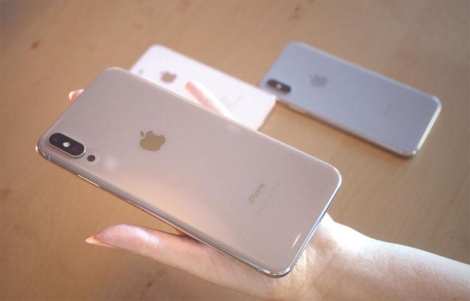iPhone X Plus lớn hơn hẳn với kích cỡ 6,5 inch.