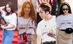 Áo phông giá 13 triệu đồng khiến sao Việt và thế giới thi nhau diện