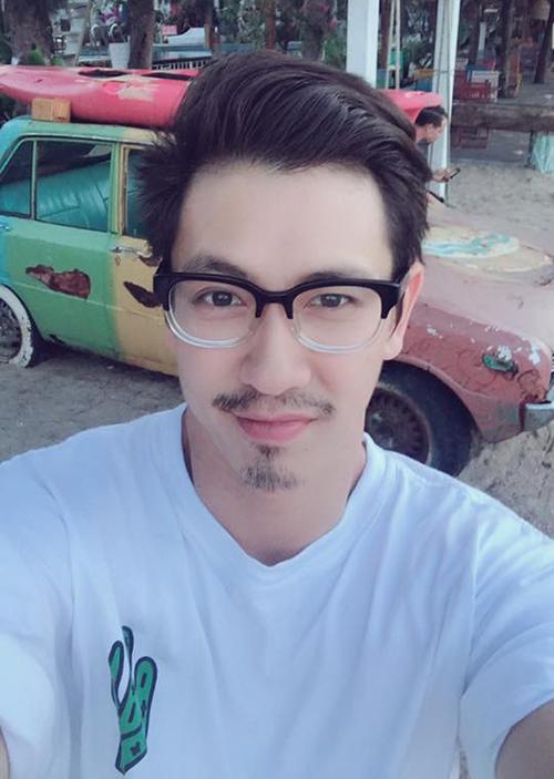 Đỗ An - ông xã Lê Thuý - chia sẻ hình ảnh râu ria cực ngầu, khác với vẻ thư sinh ngày thường.