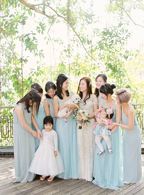 Trẻ em là những vị khách cần được cô dâu chú rể quan tâm đặc biệt.