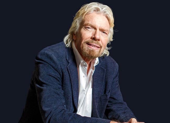 Richard Branson sở hữu khối tài sản 5 tỷ USD, là người giàu thứ 330 trên thế giới và thứ 13 tại Châu Âu. Ảnh: The Times