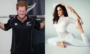 Meghan và Hoàng tử Harry cùng tập luyện để giảm cân trước đám cưới