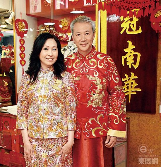 Tài tử Trần Vinh Tuấn và vợ sắp cưới.