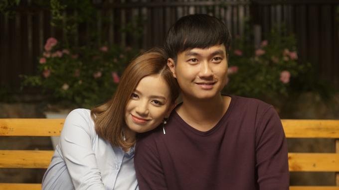 Hạ Anh và Anh Tuấn đóng vai người yêu của nhau trong Cả một đời ân oán.