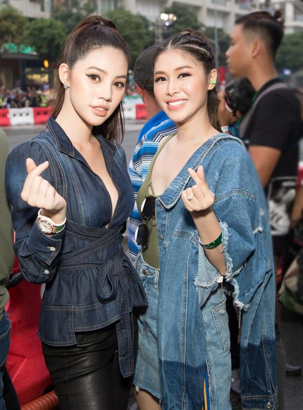 Jolie Nguyễn hội ngộ Thủy Anh - bà xã của ca sĩ Đăng Khôi.