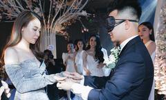 Chồng Diệp Lâm Anh nhận nhầm vợ trong tiệc cưới