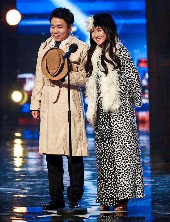 Cặp nghệ sĩ Hàn Quốc biểu diễn tại Britains Got Talent.