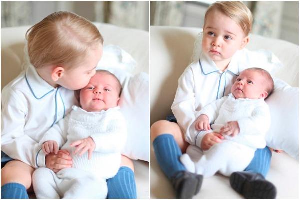 Hình ảnh đầu tiên của Công chúa Charlotte.