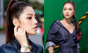 Jolie Nguyễn khoe đồng hồ hàng hiệu, Sam mặc cá tính đi sự kiện