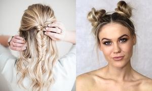 5 kiểu tóc chỉ mất vài phút tạo kiểu giúp nàng làm điệu ngày cuối tuần