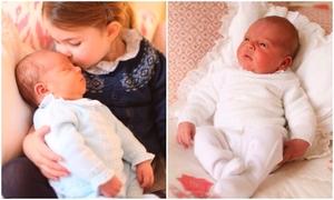 Hoàng gia Anh công bố hình ảnh đầu tiên của Hoàng tử Louis