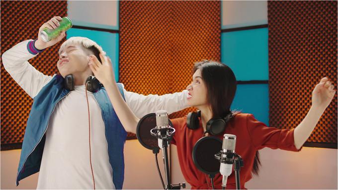 Hoà Minzy và Đức Phúc khẩu chiến trong phòng thu âm - 2