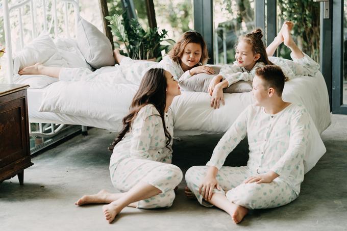 Ba con của cựu người mẫu Ngọc Nga đều mê nghệ thuật - 5