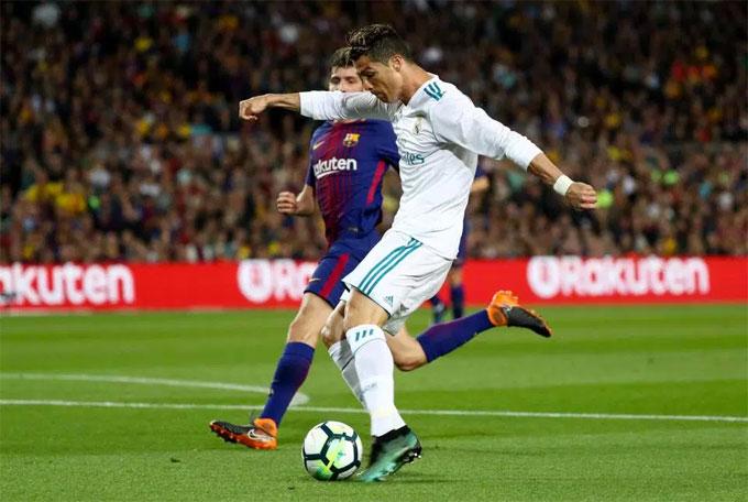 Trận đấu kết thúc với tỷ số 2-2 với hai bàn thắng thêm chia đều cho hai đội nhờ công của Messi và Bale.